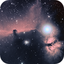 Horsehead Nebula RGB+Ha- different processing,                                Ian Gorin