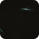 Whale and Crowbar Galaxies (NGC 4631 and 4657),                                urmymuse