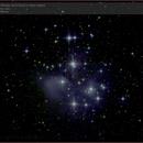The Pleiades Star Cluster M45,                                Tom Wildoner
