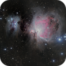 The Orion Nebula,                                Arun H.
