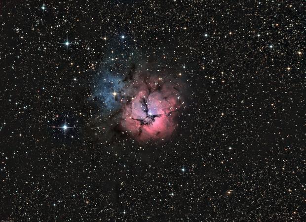 The Trifid Nebula (M20),                                Olivier Ravayrol