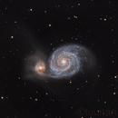 Whirlpool Galaxy,                                tuunari