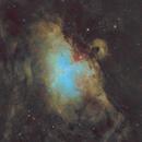 The Eagle Nebula SHO,                                Jordanne Brisby