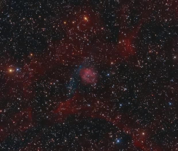 Planetary nebula AMU 1 (PN G075.9+11.6),                                Boris US5WU