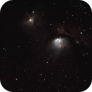 m78 dans la constellation d'Orion ,                                Philastro