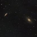 Bodes galaxy M81 & Cigar galaxy M82,                                Tom