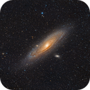 M31, backyard,                                Scott M. Stirling