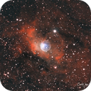 NGC 7635 The Bubble Nebula,                                Carl Weber