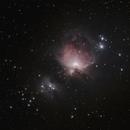 La grande nébuleuse d'Orion au 4eme RAAGSO,                                Philastro