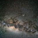 Milky Way's center,                                André Meneghetti Piedade
