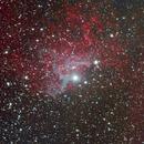 IC 405 Flaming Nebula,                                Enrico Benatti
