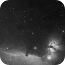 IC435 Horsehead in H-alpha with New Takahashi,                                jerryyyyy