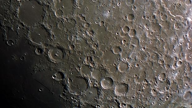 Moon's surface,                                Tareq Abdulla