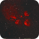 NGC 6334 - Cat's Paw Nebula,                                Uri Abraham