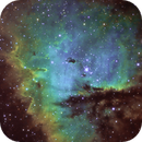 Pacman Nebula - NGC 281,                                keving