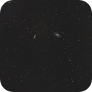 M81&M82 (Bodes galaxies) Canon 6D (serial) + SW ED80PRO /EQM-35/400ISO,                                patrick cartou