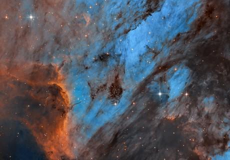 The Pelican Nebula,                                Antanas Paulauskas