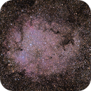 IC 1396 et l'étoile grenat Mu Cephei,                                Doublegui