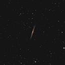 NGC 5906 - La Galaxie de l'Écharde,                                Freddy Bourgeois