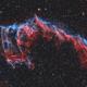 NGC 6995 Eastern Veil Nebula - HOORGB,                                Zheng Fu