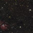 Hubble's Variable Nebula & Cone Nebula,                                KiwiAstro