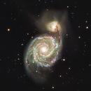Whirlpool galaxy,                                Ron Kramer