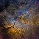 NGC 6820 and the Pillars of Vulpecula,                                John Hayes