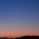 Moon and Venus Conjunction at Sunrise /2,                                Giuseppe Petricca