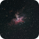 The Eagle Nebula in Serpens,                                astropical