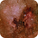North America and Pelican Nebula Mosaic,                                David Redwine