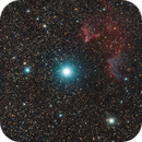 Ghost of Cassiopeia (IC 63 and IC 59),                                Stephen Migol