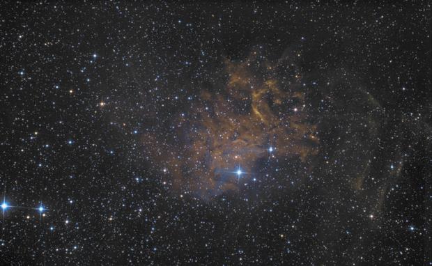 IC405 in Fake SHO (RGB),                                Kai Westhöfer