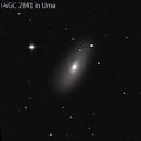 NGC 2841 in Uma (RASC 40),                                Howard