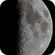 Moon 44,1% illuminated Libration South  7  West 2,                                Siegfried