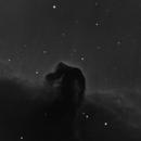 IC434 (Horse Head Nebula) in Ha - 13 Feb 2017,                                Geof Lewis