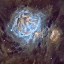 Messier 42/43 en SHO,                                Georges