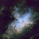 M 16, the Eagle Nebula, SHO,                                Stephen Garretson