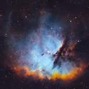 NGC281 - Pacman Nebula (SHO w/ OSC),                                blastrophoto