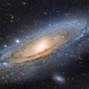 M31 - The Andromeda Galaxy (9/15/15),                                greenbbs