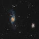 NGC 3718 (Arp 214) in Ursa Major,                                Barry Wilson