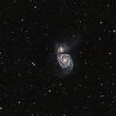 M51 Whirlpool Galaxy,                                Francesco