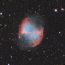Dumbbell Nebula LRGB,                                Daniel Hightower