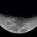 Lunar first light,                                Shannon Calvert