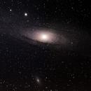 M31, M32 et M110 Galaxie d'Andromède,                                Sébastien MARTIN