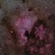North America Nebula With Pelican - RedCat 51,                                Mirko M