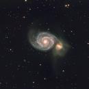 M51 - The Whirlpool Galaxy,                                Rick Daniell