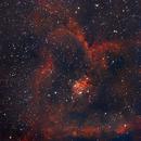 IC1805 Heart,                                Deraux LeDoux