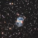 The little Dumbbell Nebula - M76 - LRGB,                                Astrodane - Niels Haagh