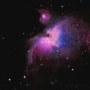 M42 Orion Nebula,                                sanjeev177