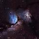 NGC2071 and M78,                                Nik Coli